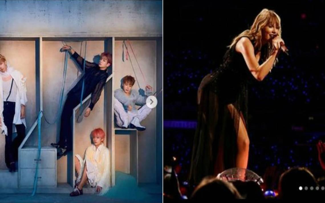 Taylor Swift deja de ser la reina de Youtube gracias a esta banda