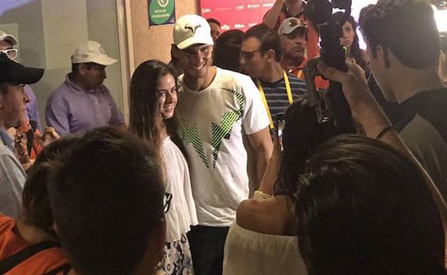 Rafa Nadal se toma fotos con las hijas de Peña Nieto en Acapulco