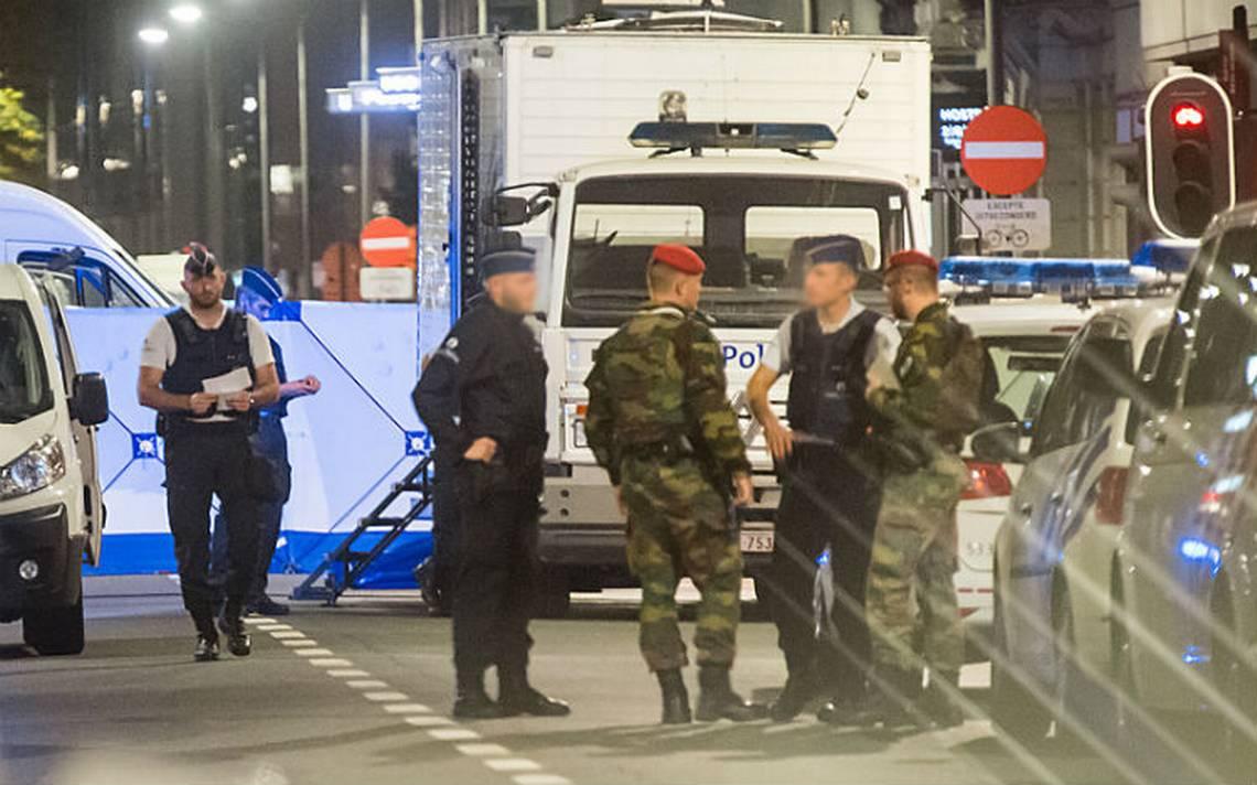 Un hombre es abatido tras atacar a militares en Bruselas