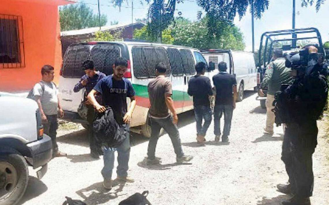 Durante operativo encuentran 54 indocumentados en Tamaulipas