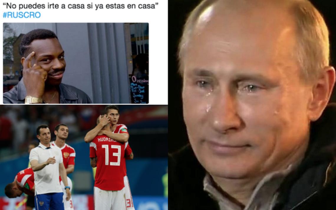 Rusia se va del Mundial y los despedimos con estos memes