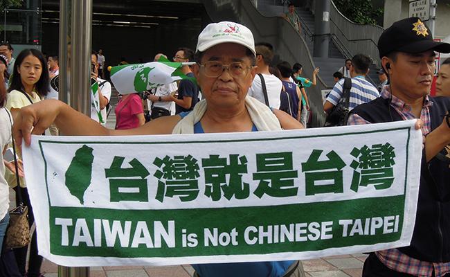 Protestas y boicot del equipo chino deslucen Apertura en Taipei 2017