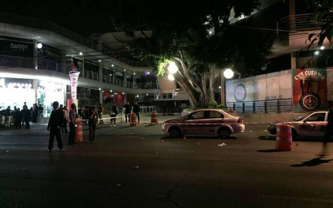 Balacera en centro comercial de Cuernavaca deja 12 heridos