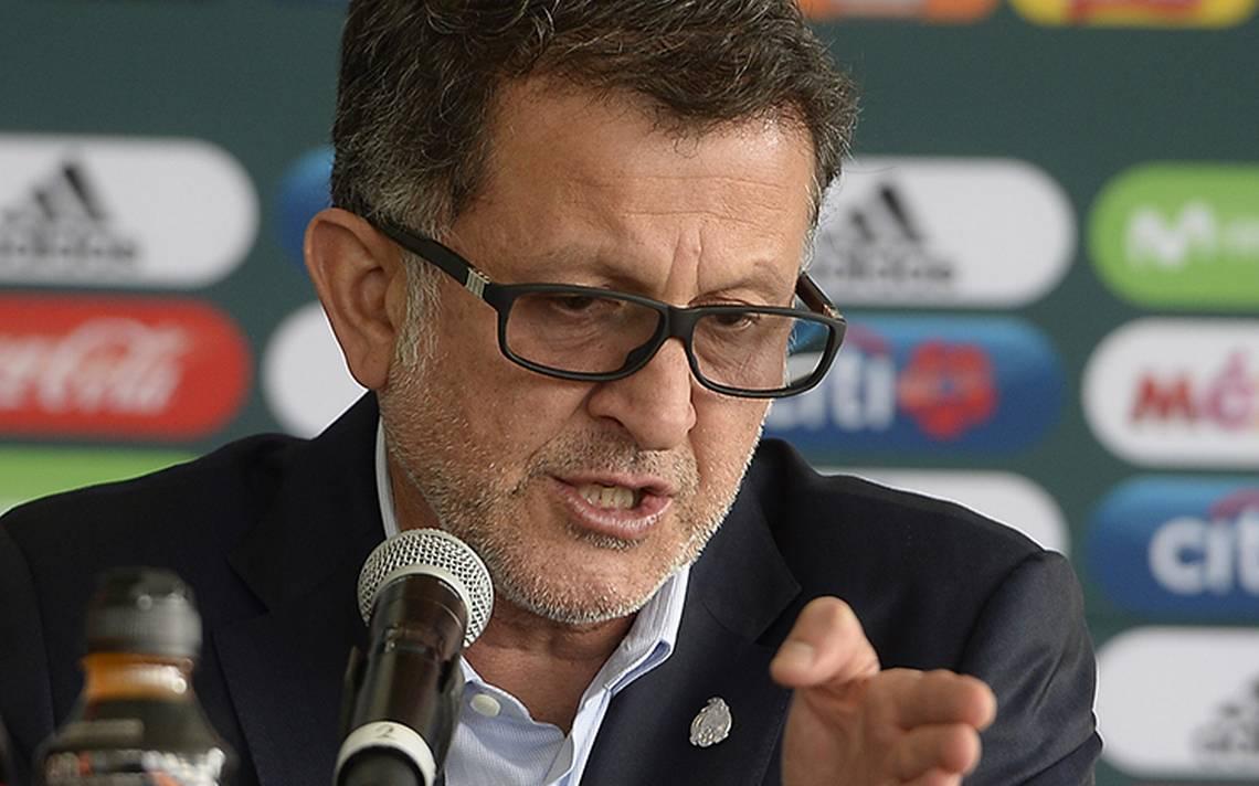 Juan Carlos Osorio sueña con ser campeón del Mundo con el Tri