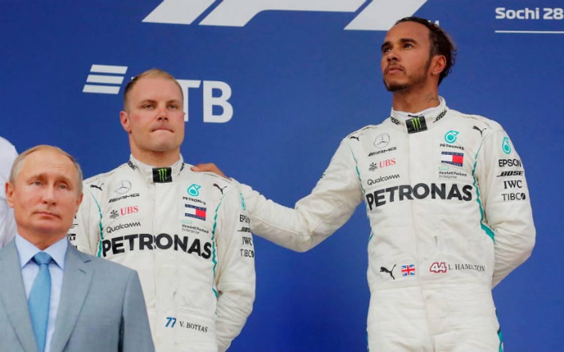 Bottas atiende órdenes de equipo y da el triunfo a Hamilton