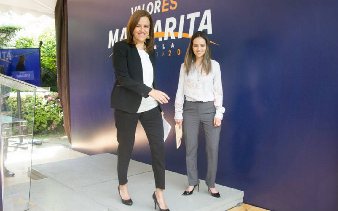 Zavala regresa 2.3 mdp al INE, pide destinarlos a la reconstrucción