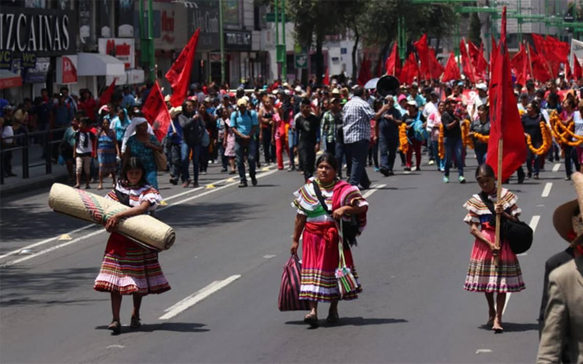 Marchas complicarán la circulación vial en el Centro Histórico
