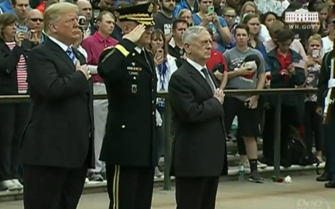 Trump destaca logros de su administración en el Día de los Caídos