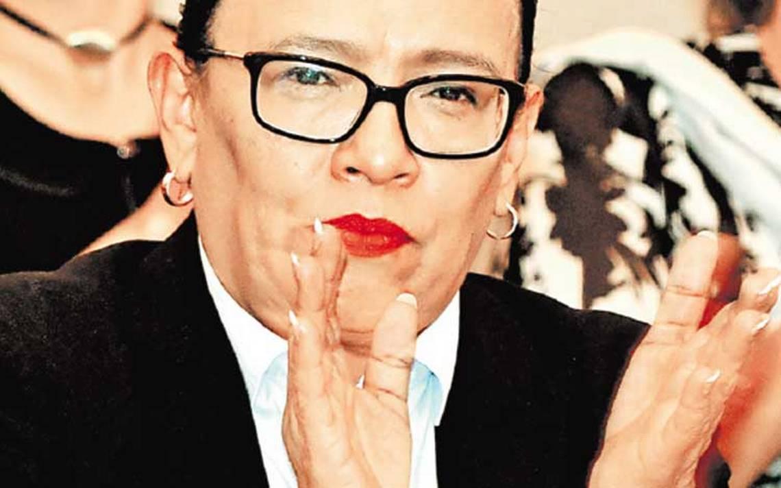 Rosa Icela Rodríguez, sobreviviente de la izquierda