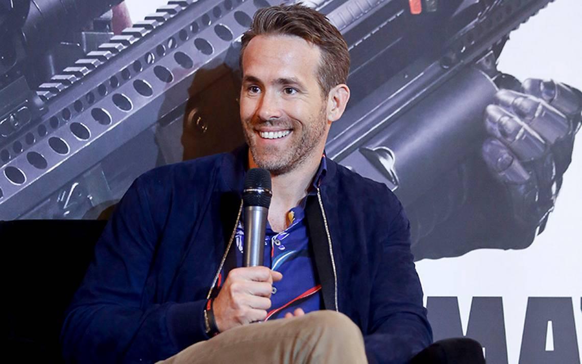 El presidente de EU no parece alguien con gracia: Ryan Reynolds