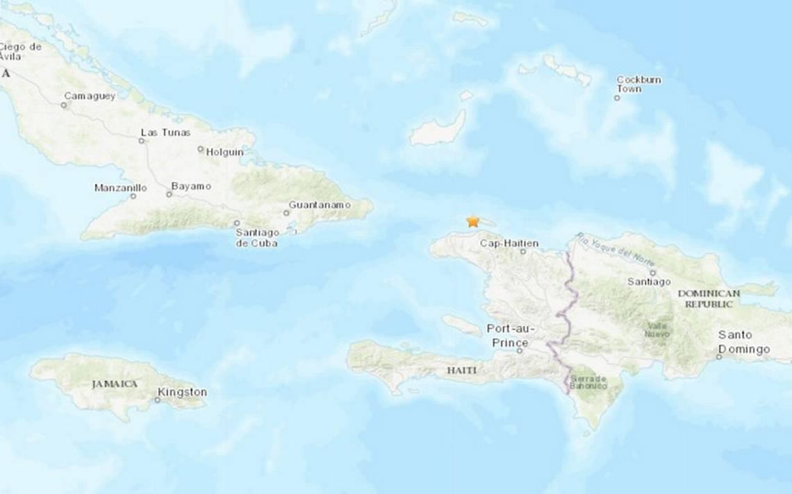 Nueva situaciA?n de pA?nico en HaitA�: reportan sismo de magnitud 5.2