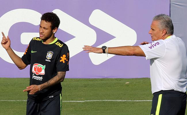 Neymar se incorpora a la Selección brasileña