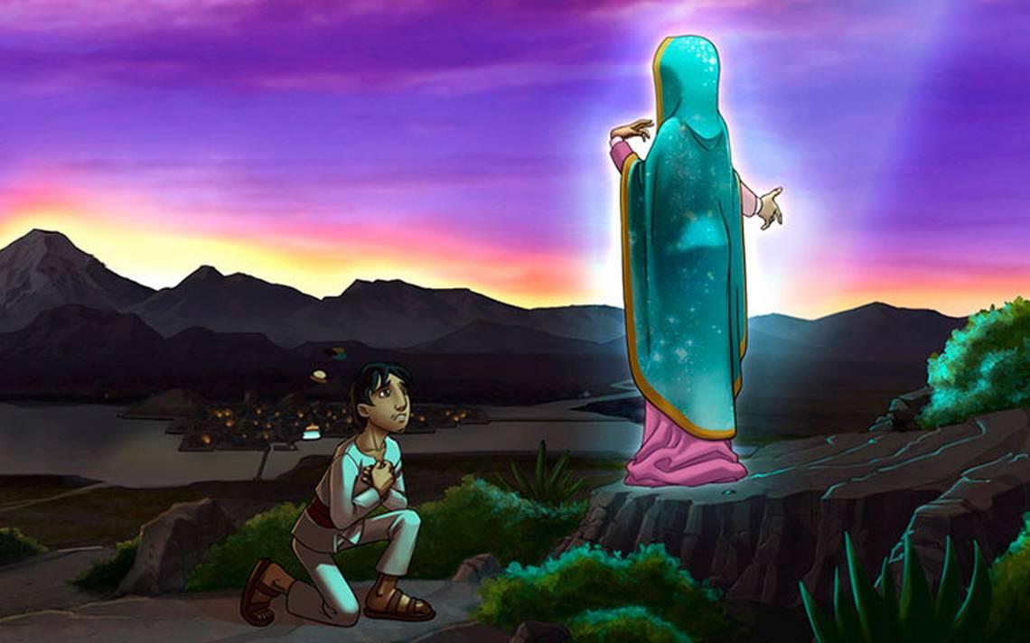 Salma Hayek y PlA?cido Domingo doblarA?n cinta animada sobre Virgen de Guadalupe