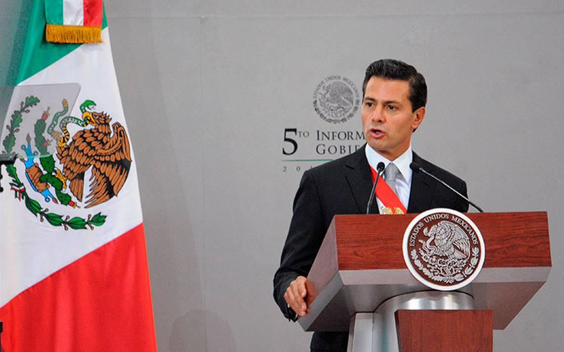 Pide Peña Nieto evitar en 2018 un modelo del pasado que ya fracasó