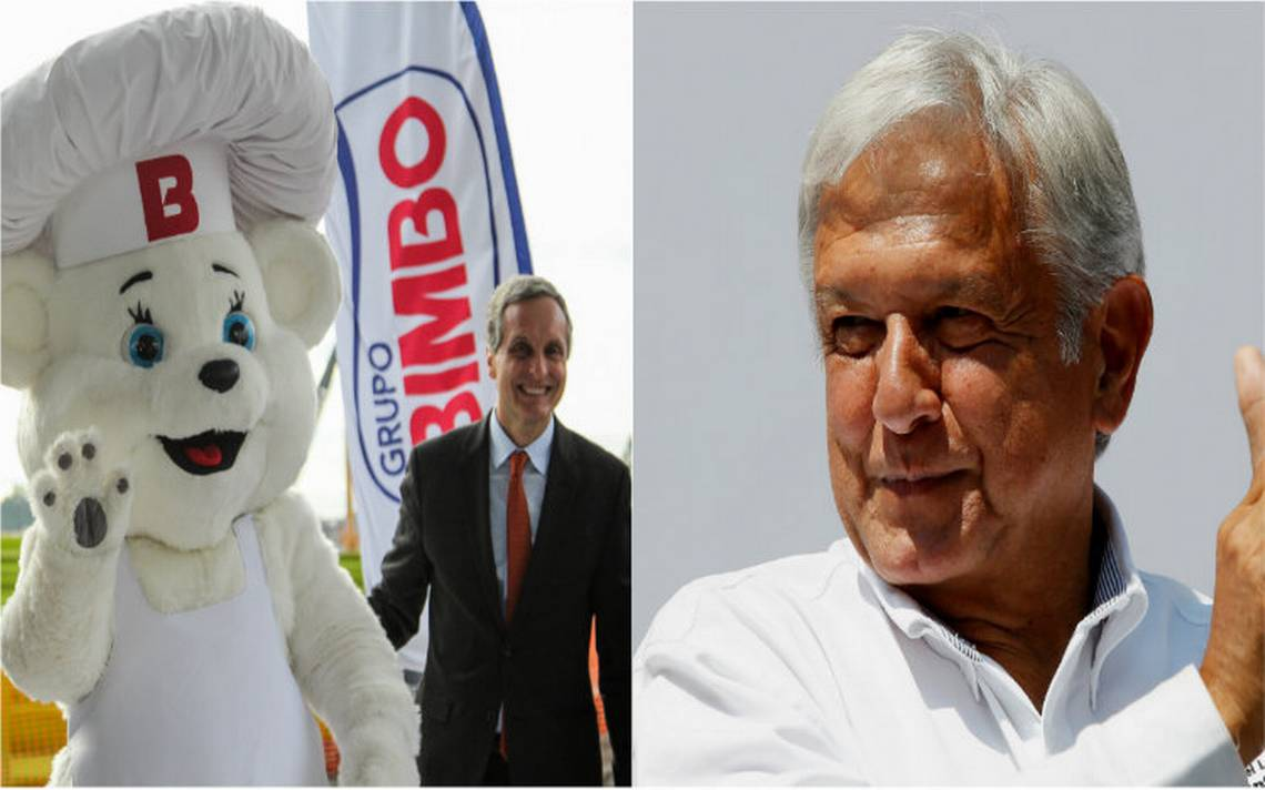 Bimbo se declara en plena disposición para trabajar con AMLO
