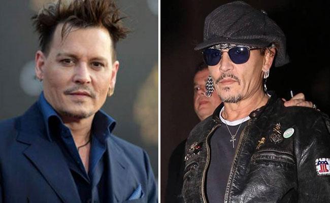 ¿Qué le pasó? Johnny Depp reaparece y luce irreconocible