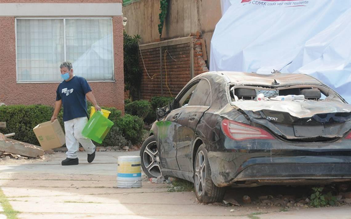 Tres meses después, vecinos del Rébsamen volvieron a sus casas