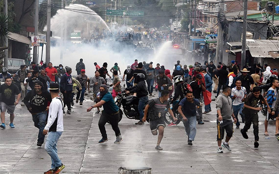 Arrecian protestas por presunto fraude en Honduras