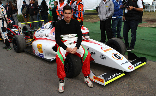 De la Vara llega motivado a la la FIA F4 NACAM