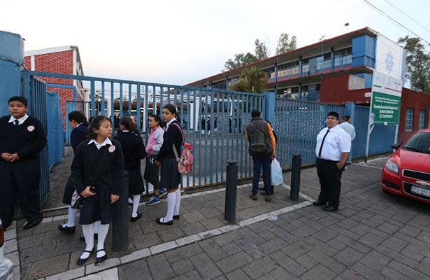 Se aplicará horario de invierno en escuelas de Aguascalientes