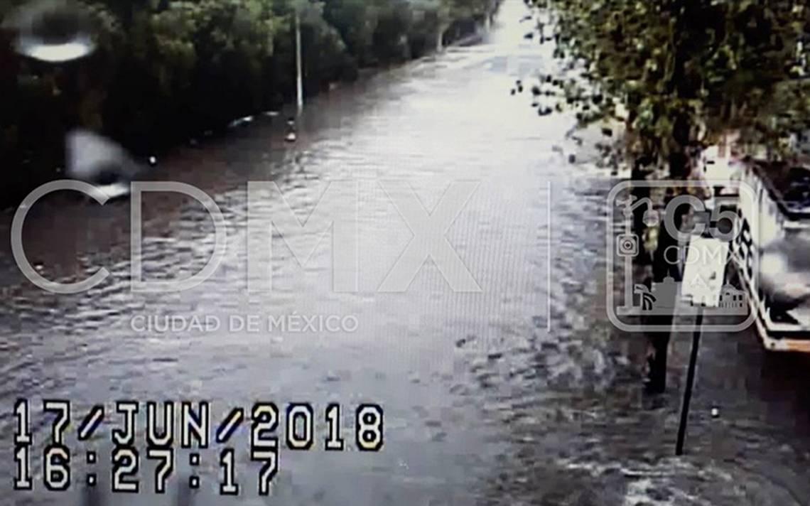 Reportan afectaciones en Xochimilco y Gustavo A. Madero tras lluvia