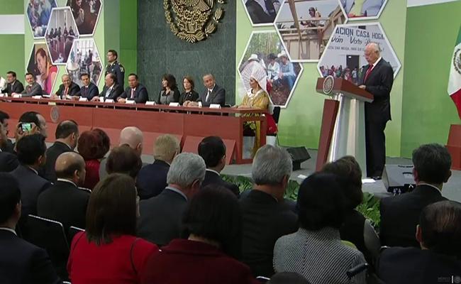 Gobierno cumple con su función social: José Narro