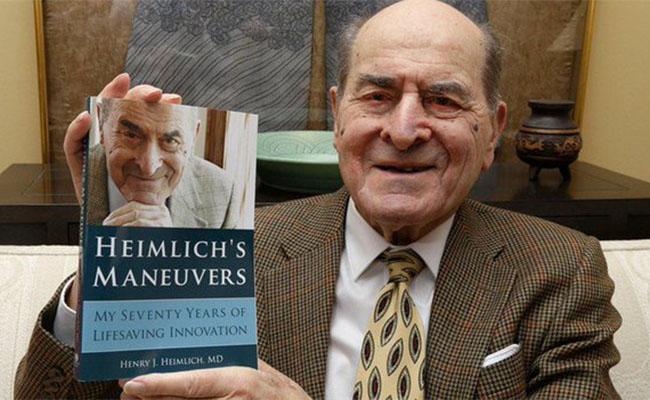 Muere Henry Heimlich, creador de la maniobra de primeros auxilios