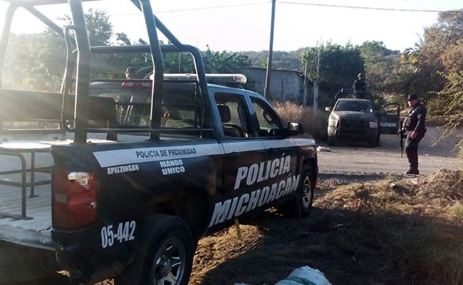 Presuntos sicarios secuestran a cinco policías indígenas en Michoacán