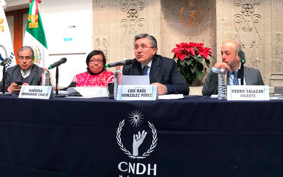 Si el presidente no escucha exhortos, impugnaremos Ley de Seguridad: CNDH