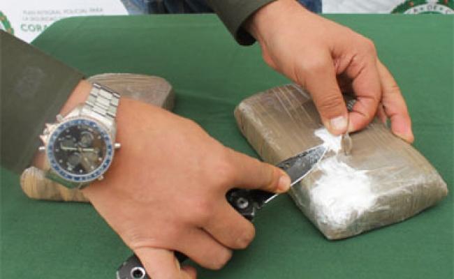 Incautan en Colombia 6.2 toneladas de cocaína con destino España