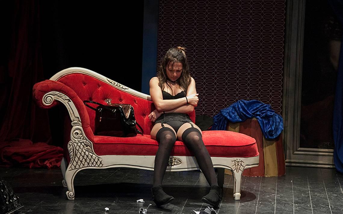 """¡Te invitamos al teatro! """"Venus en la piel"""",un ensayo sobre la provocación"""