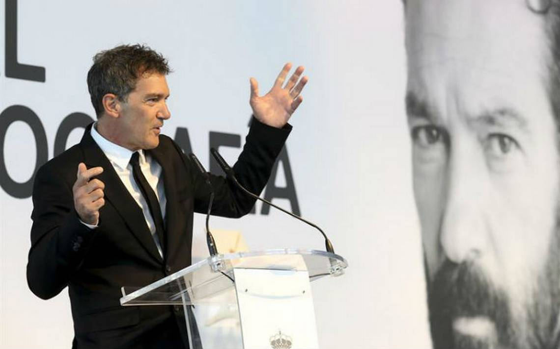 Antonio Banderas recibe el premio nacional de cinematografía