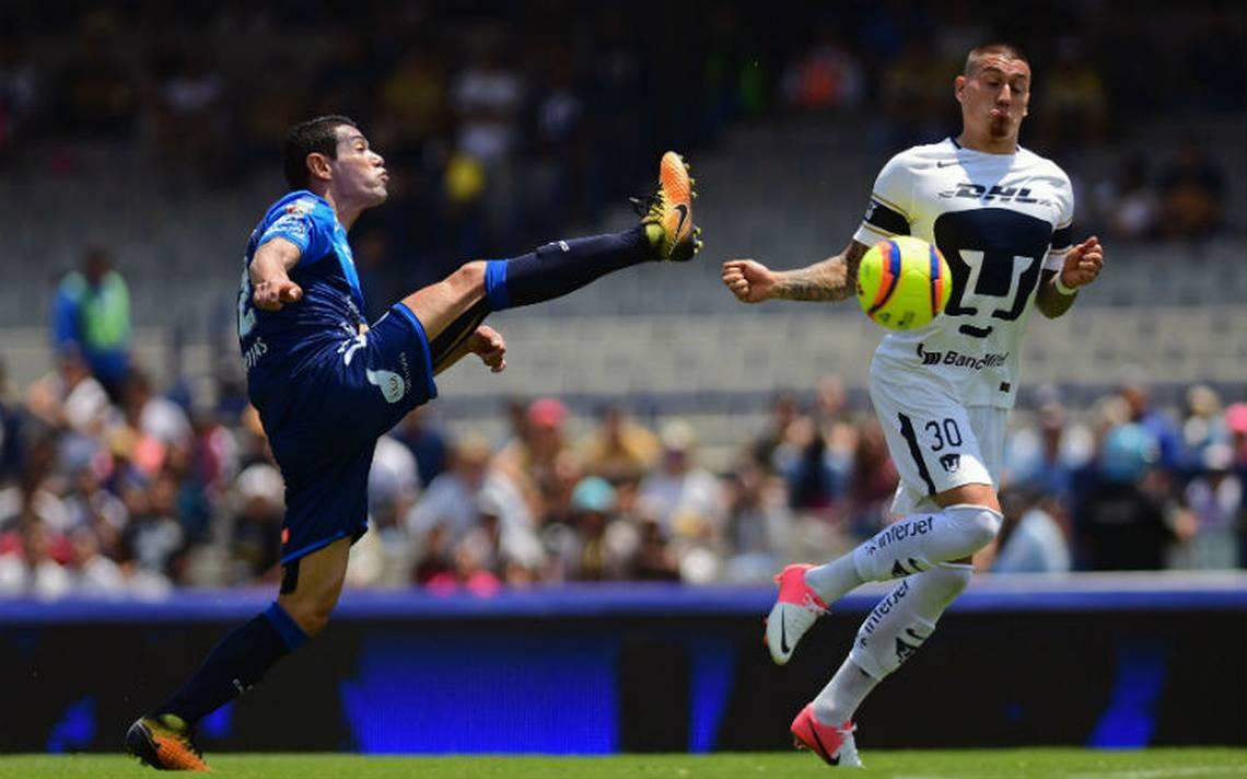 Con triplete de Nicolás Castillo, Pumas  vence 4-2 al Puebla