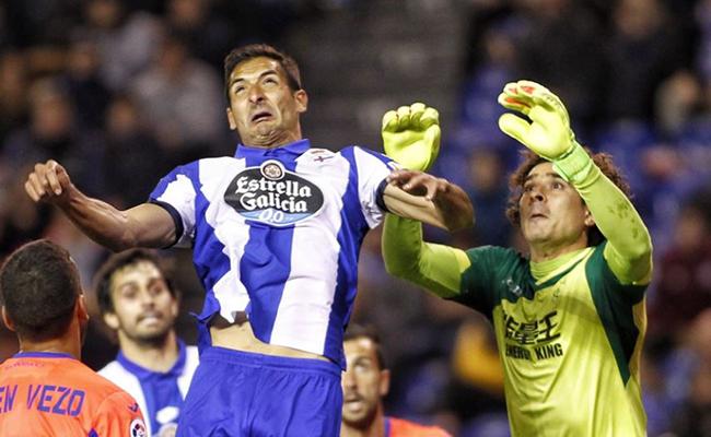 Memo Ochoa salva empate entre el Granada y Deportivo La Coruña