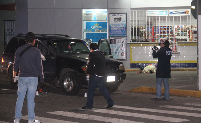 Asesinan a tiros a pareja de comerciantes en Córdoba