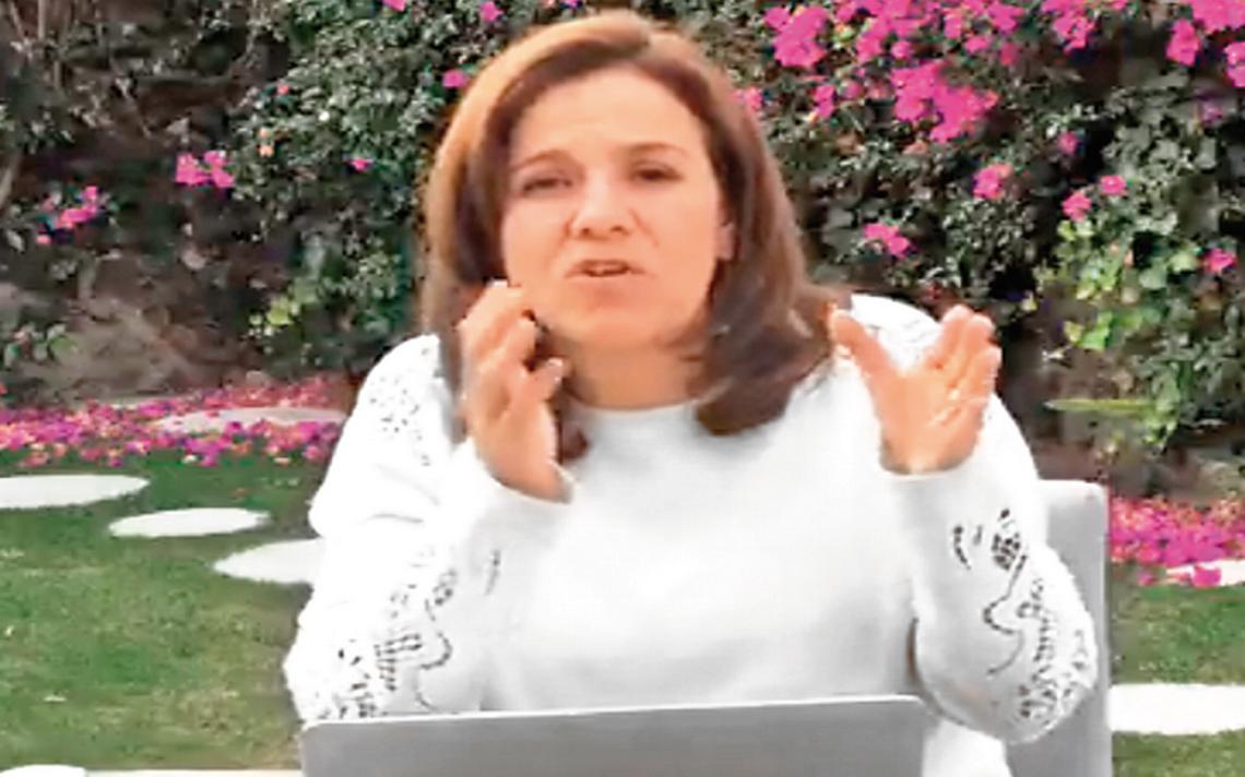 Zavala critica reacciA?n de  AMLO por pleito con empresarios
