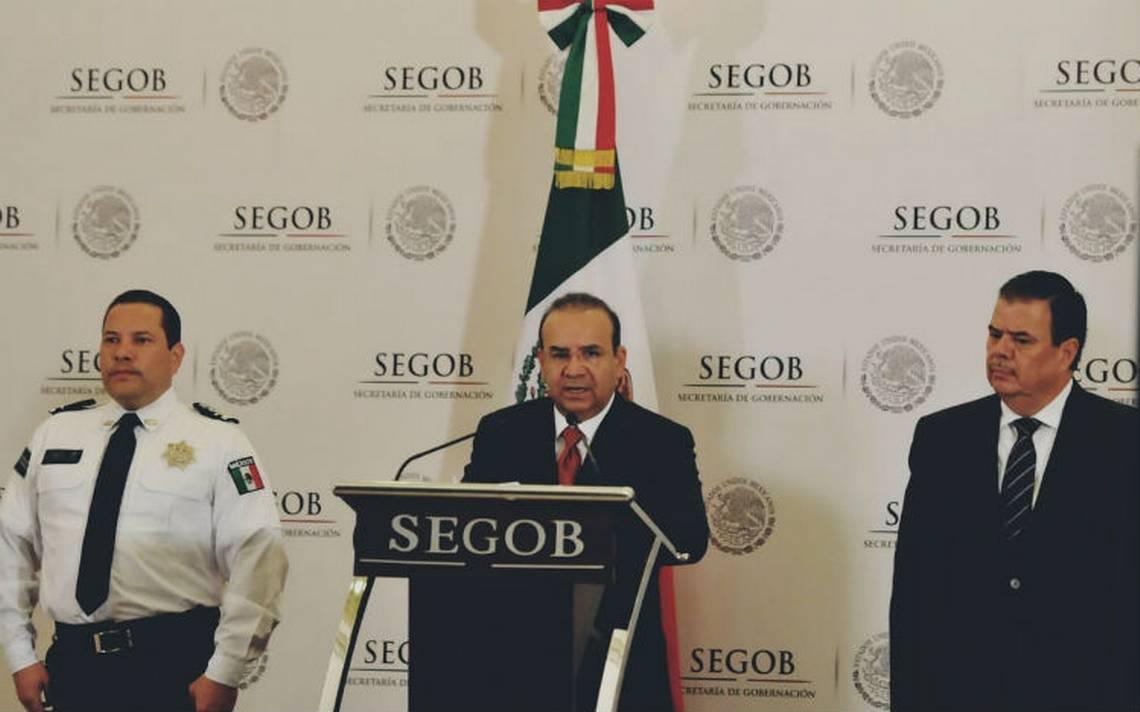 Necesario blindar frontera con EU para evitar tráfico de armas a México: Segob