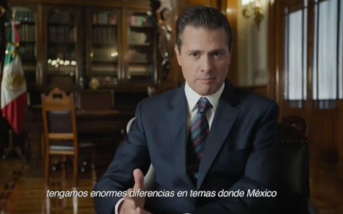 Visita de Trump a México fue apresurada, pero hoy tiene resultados positivos: Peña Nieto