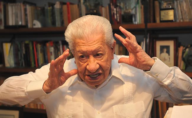Nada de cilicio, el teatro es placer: Ignacio López Tarso