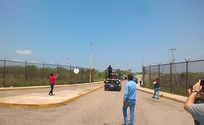 Trasladan a 60 reos del penal de Altamira, Tamaulipas