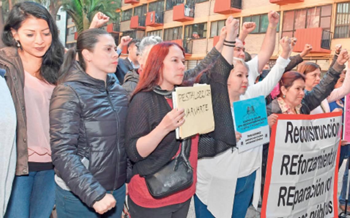 Víctimas de 19S se oponen a memorial; consideran que tiene un cariz político
