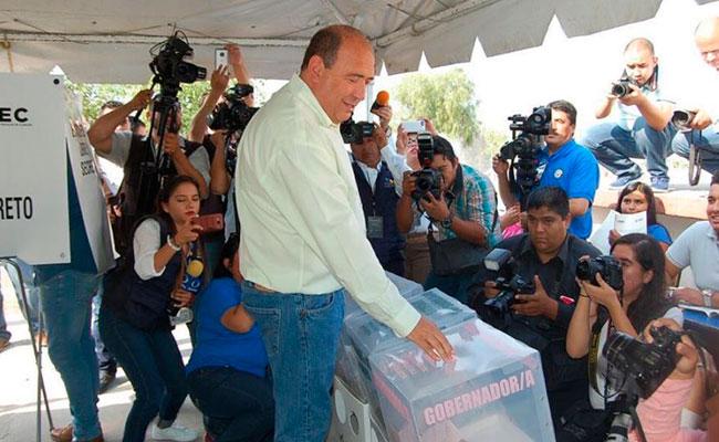Se viven elecciones tranquilas en Coahuila: Moreira
