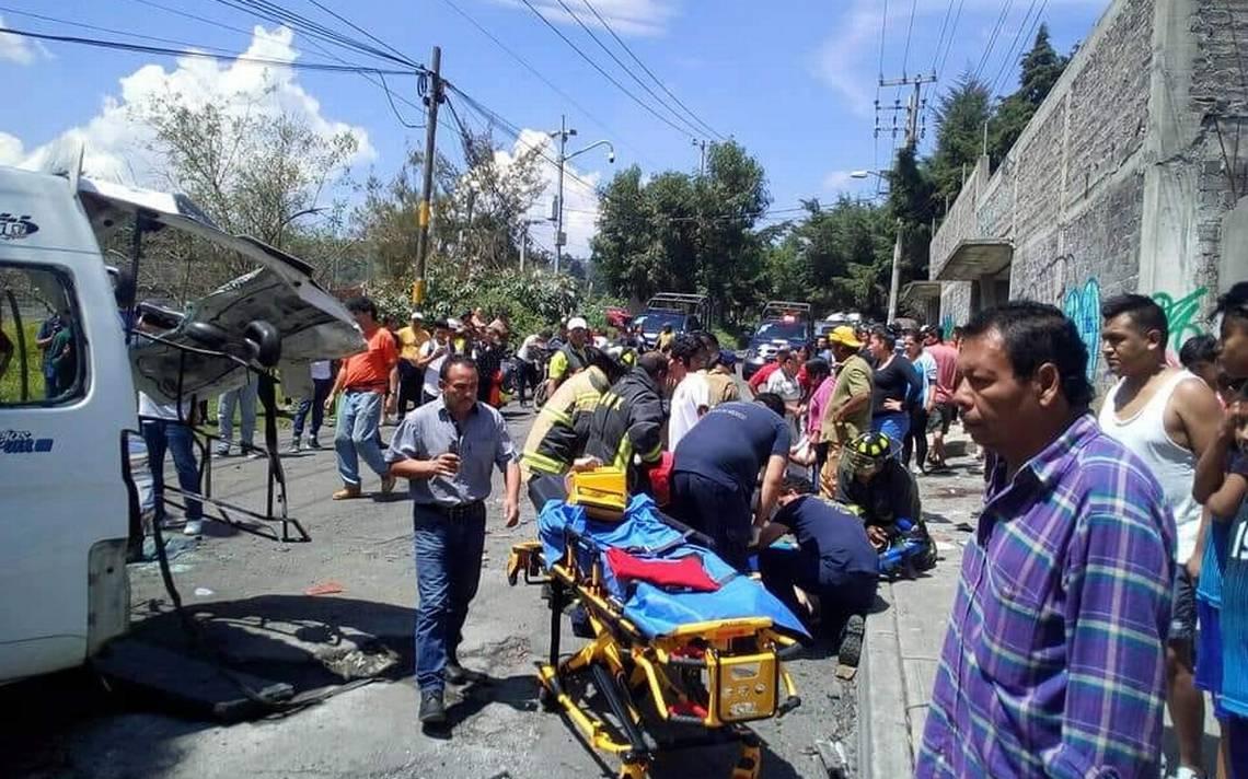 Aumenta a 18 los lesionados por accidente en la Xochimilco Topilejo
