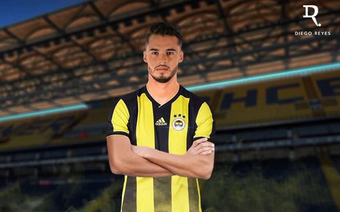 ¡Oficial! Diego Reyes, nuevo jugador Fenerbahce de Turquía
