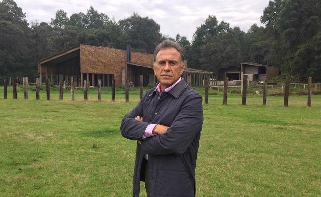 Yunes exhibe rancho en que Javier Duarte quería pasar su retiro