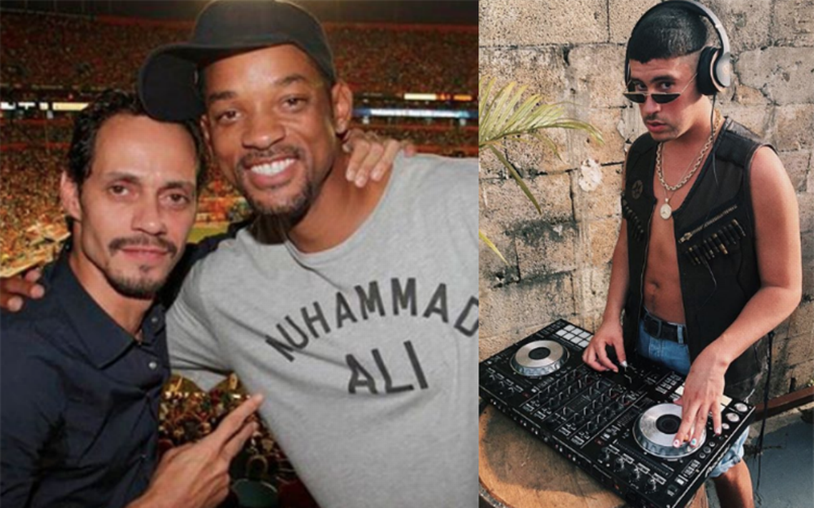 Will Smith regresa a la música con Bad Bunny y Marc Anthony