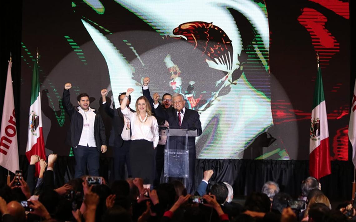 AMLO afianza victoria; obtiene 52.9% de los votos al cierre del PREP