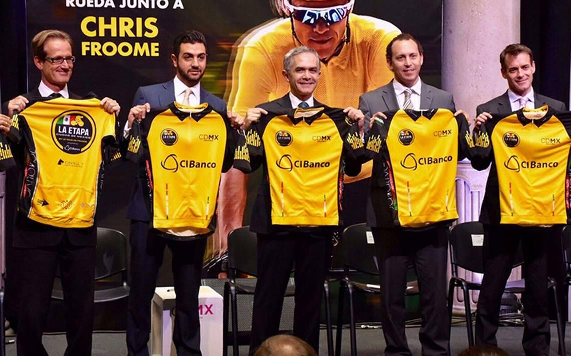 Presentaron la etapa CDMX del Tour de Francia