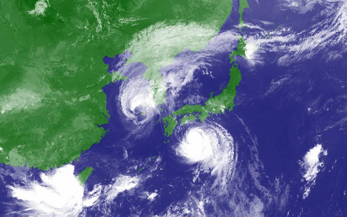 Potente tifón se dirige hacia el oeste de Japón
