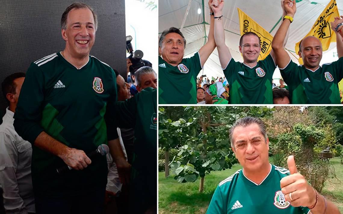 Presidenciales celebran triunfo de la Selección Mexicana ante Alemania